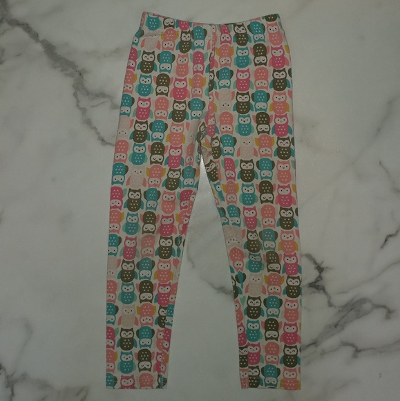 New Carter/'s Multi Color Owl Print Leggings NWT Girls 2T 3T 4T 5T 6 7 8 Owls